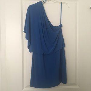 Jessica Simpson- Light Blue One shoulder dress